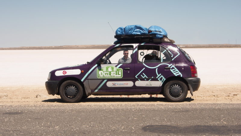The Small Sponsored Car